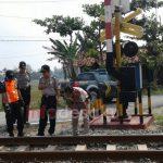 Polres Blora Bersama Pemerintah Daerah Tanggapi Serius Perlintasan Kereta Api Tanpa Palang Pintu