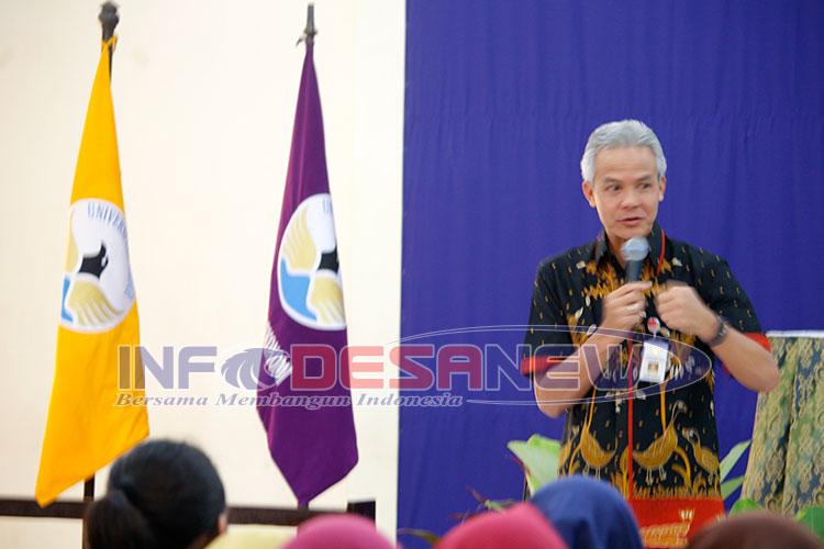 Photo of Ganjar Pranowo : KKN Tematik Bantu Tingkatkan Potensi Dan Ekonomi Desa