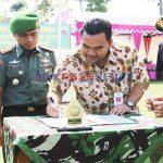 Penutupan secara Resmi TMMD Sengkuyung Tahap III di Desa Gersi