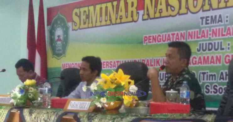 Photo of Dandim Madiun Berikan Wawasan Kebangsaan Dalam Seminar Nasional Kebangsaan
