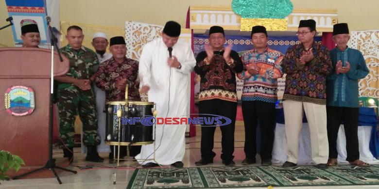 Photo of Camat Sidomulyo Afendi. SE Membukaan MTQ Tingkat Kecamatan