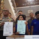 Polrestabes Semarang Berhasil Meringkus Tiga Pelaku Penipuan Uang Rp 4,9 Miliyar