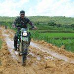 Dengan Trabas, DANDIM Pati Cek Lokasi TMMD di Desa Godo
