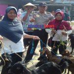 Polsek Jati Polres Blora Patroli Pasar Hewan Antisipasi Upal