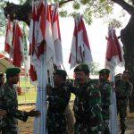 Ramaikan TMMD, Seribu Bendera dikibarkan di desa Godo Winong