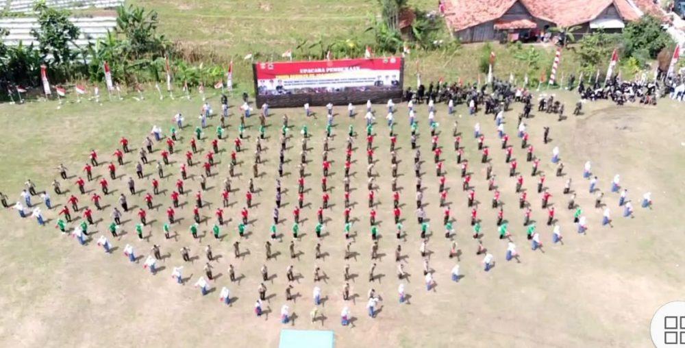 Photo of 260 Penari Memeriahan Pembukaan TMMD Reguler Blora