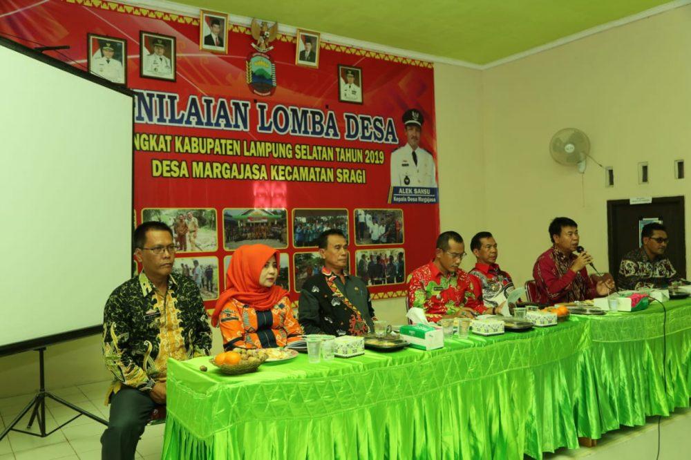 Photo of Pemkab Lampung Selatan Pilih Desa Marga Jasa Ikuti Lomba BBGRM Tingkat Provinsi