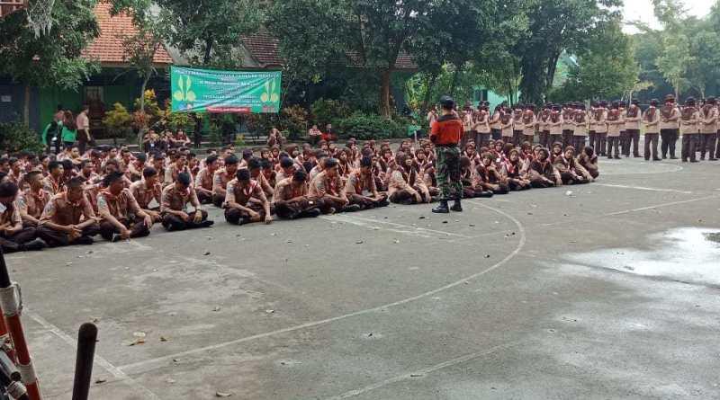 Photo of Serda Akad Berikan Wasbang LDKS Saka Wira Kartika di SMAN 1 Prambon Nganjuk