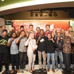 Dandim 0735/Surakarta Bersama Muspida Ikuti Deklarasi Merajut Kebhinekaan Memperkokoh NKRI