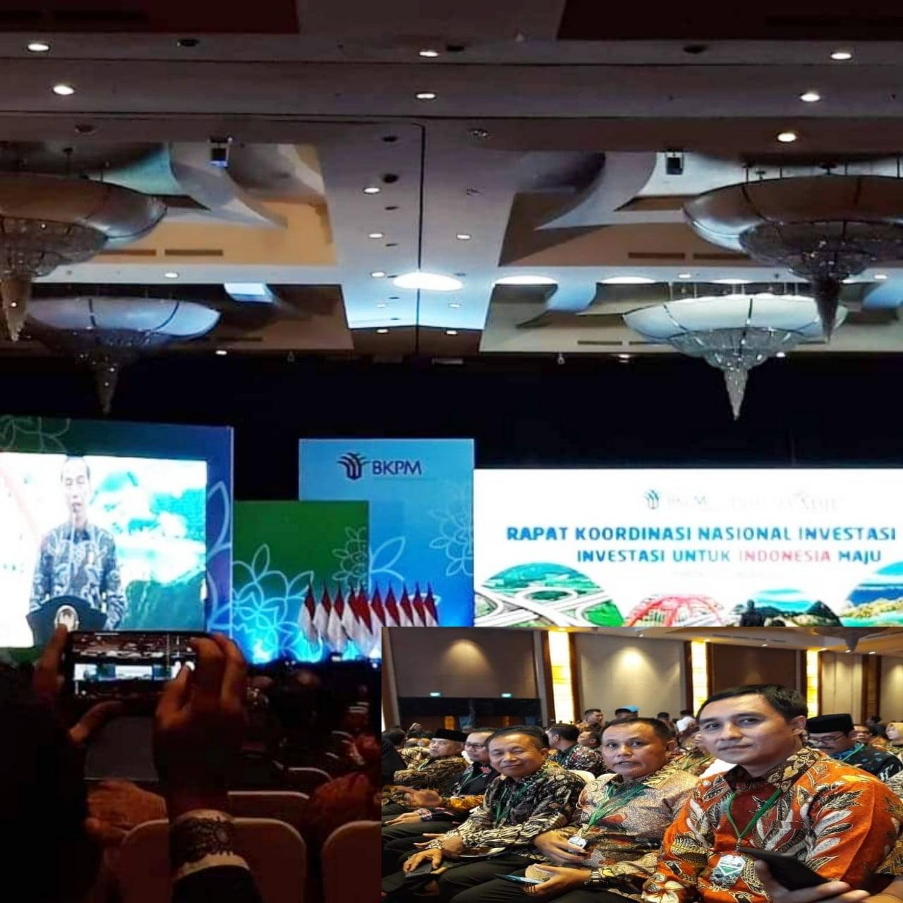 Photo of Plt Bupati Lampung Selatan Hadiri Rakornas Investasi Tahun 2020 Di Jakarta