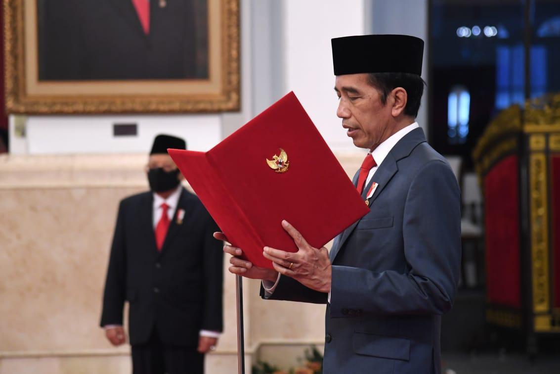 Isdianto Dilantik Presiden Jokowi Sebagai Gubernur Kepulauan Riau
