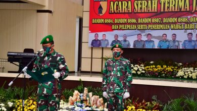 Photo of Enam Jabatan Dansat Jajaran Korem 081/DSJ Diserahterimakan