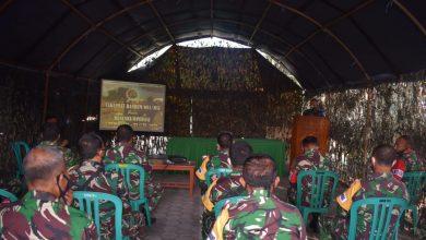 Photo of Kasiter Sampaikan Taklimat Awal Danrem 081/DSJ Pada Latihan Posko I