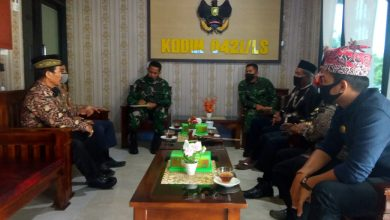 Photo of Letkol Inf Enrico Gelar Coffee Morning Bersama Tokoh