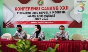 Riyadi, S.Pd Pimpin PGRI Cabang Karanglewas 2020-2025