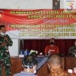 Silahturahmi Dengan Mitra Karib, Kodim Pati Melaksanakan Pembinaan Peta Jarak Jaring Teritorial