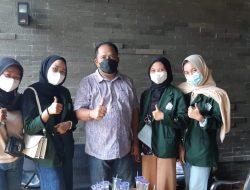 M.Akyas Terima Kunjungan Mahasiswi Jurusan Pemikiran Politik Islam UIN Bandar Lampung