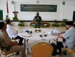 Komsos Bersama Keluarga Besar TNI, Danrem 091/ASN Ingatkan Penerapkan Protokol Kesehatan