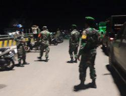 Kodim Kutai Kartanegara Patroli Malam Cegah Kerumunan Dan Tindak Kriminal