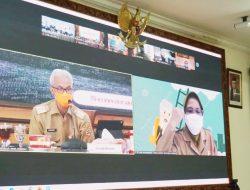 Gubernur H. Ganjar Pranowo, SH., M.IP, Harapkan Warga Isman Sembuh Tanpa Masuk Ruma Sakit