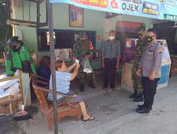 Patroli Koramil Karangmalang Sragen, Masih Temukan Warga Tak Pakai Masker