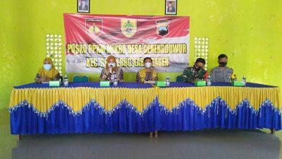 Babinsa Geneng Duwur Amankan Giat Kunjungan Wakil Bupati