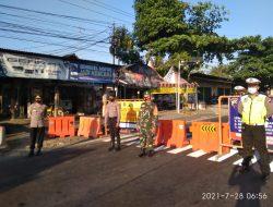 Petugas Gabungan Masih Tutup Akses Jalan Menuju Boyolali Kota