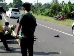 Truk VS Sepada Motor Korban Meninggal di Tempat Kejadian